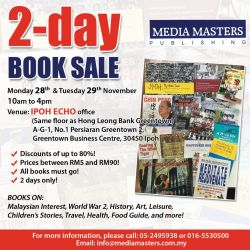 2-Day Book Sale (28 & 29 Nov 2016)