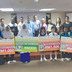 Pangkor Island School Recycling Competition Winner