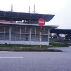 KTM Ipoh Back Gate Not Supervised