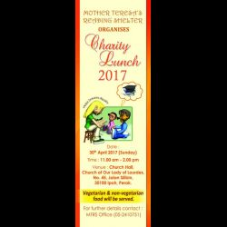 Mother Teresa's Reading Shelter's Charity Lunch 2017 (30 Apr 2017)