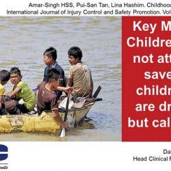Childhood Drowning � The Malaysian Epidemic