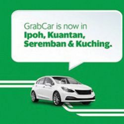 GrabCar Service Now Available in Ipoh