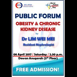 Public Forum: Obesity and Chronic Kidney Disease (8 Apr 2017)