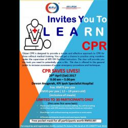 Citizen CPR Course (29 Apr 2017)