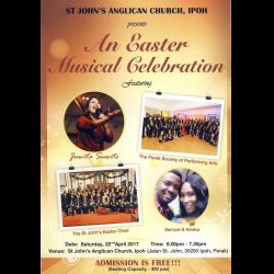An Easter Musical Celebration (22 Apr 2017)