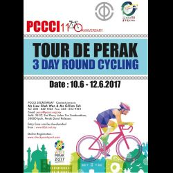 Tour De Perak - 3-Day Round Cycling (10-12 Jun 2017)