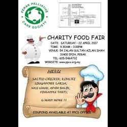 PPCS Charity Food Fair (22 Apr 2017)