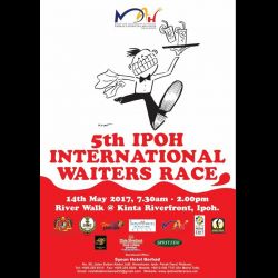 5th Ipoh International Waiters Race (14 May 2017)