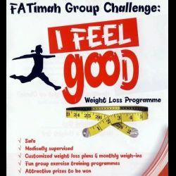 Fatimah Challenge: I Feel Good Weight Loss Programme (28 Jun 2014)