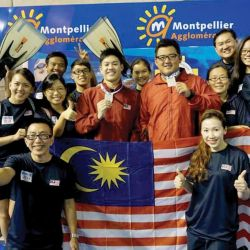 First Medal in Lifesaving for Malaysia