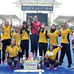 Johor School is Hockey Champion