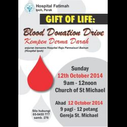 Blood Donation Drive (12 Oct 2014)
