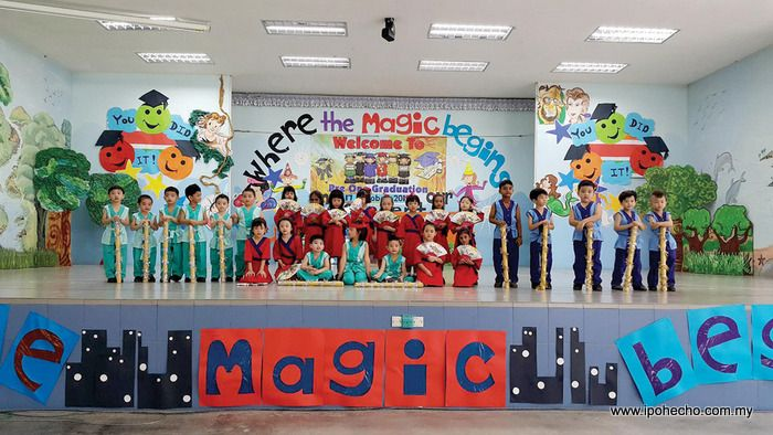 Classroom Design Books ~ Ipoh echo mariaville s magical disney concert and graduation