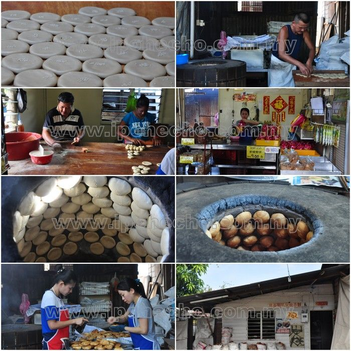 Traditional Heong Peah making