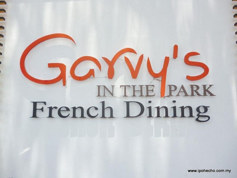 Garvy's In the Park French Dining