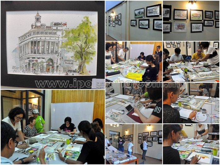 Urban Sketchers Ipoh (USI)