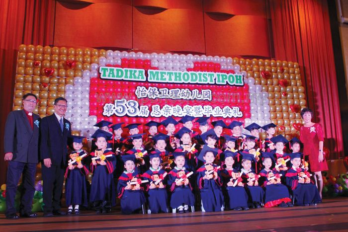 Over A Hundred Kindergarten Students Attended Tadika Methodist Ipohs 53rd Graduation Cum Concert On Friday October 13 The Auspicious Event Was Held At