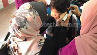 Photo of Special Needs Children get Hearing Tests