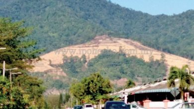 Photo of My Say:  Is Kledang Hill Encroachment a 'Test' to PH's Administration?