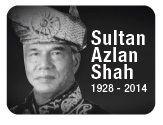 Photo of Almarhum Sultan Azlan Shah (1928-2014)