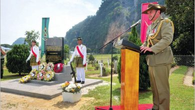 Photo of Ipoh's Annual Memorial Services