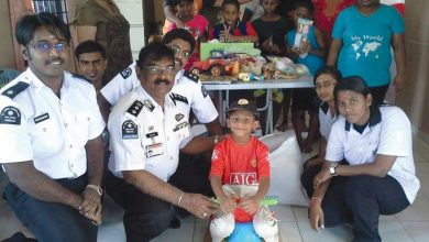 Photo of St John Ambulance Visits Welfare Homes