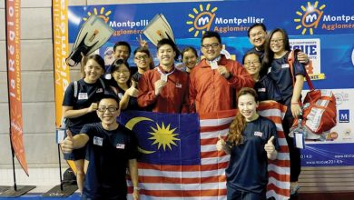 Photo of First Medal in Lifesaving for Malaysia