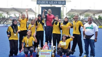 Photo of Johor School is Hockey Champion