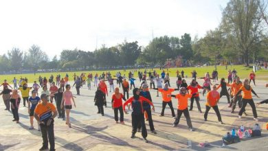 Photo of Free Aerobic Session at Polo Ground