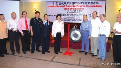 Photo of Research Project for Perak Chinese Tin Mining Industry launched