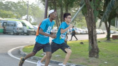 Photo of School's Inaugural Jogathon