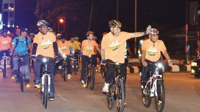 Photo of Cycling with the Sultan