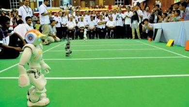 Photo of PD Robot Wins