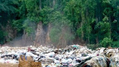Photo of Rubbish dump at Gunung Lanno