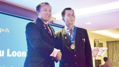 Photo of Rotary Club Ipoh's New President