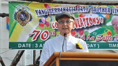 Photo of Brother Vincent Celebrates Diamond Jubilee
