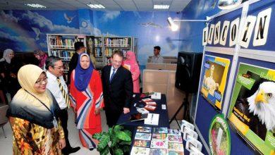 Photo of U.S. Embassy and Perak's New Lincoln Corner