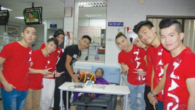 Photo of Youth Ambassadors Visit NKF Ipoh