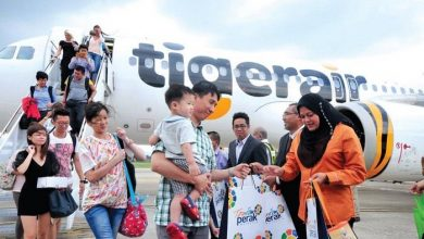 Photo of Tigerair's Inaugural Flight to Ipoh