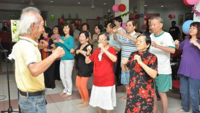 Photo of Old Folks Feted