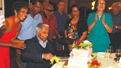 Photo of Jeyaratnam Celebrates 90 Years