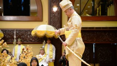 Photo of Sultan Nazrin Shah Crowned as the 35th Sultan of Perak Darul Ridzuan