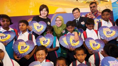 Photo of TOP and MYDIN CSR Bring Smiles to Students