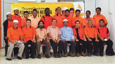 Photo of Party Amanah Perak Line-up