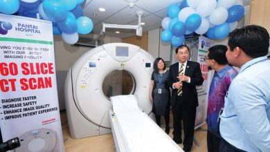 Photo of Perak's First 160 Slice CT Scan
