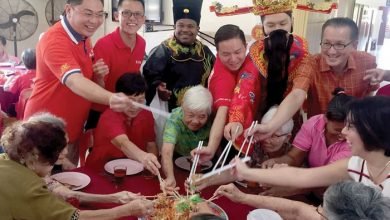 Photo of CNY Cheers to Old Folks