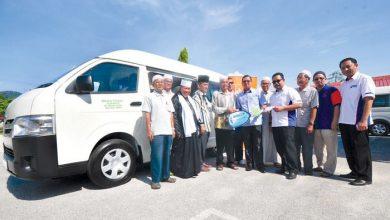 Photo of Manjoi Mosque Gets a Van