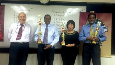 Photo of Toastmaster Eloquence Contest