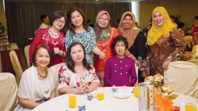 Photo of Joyful Alumni Reunion