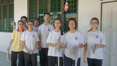 Photo of SMK Seri Keledang visits old folks home